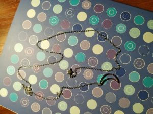 Crystal Twelve Constellation Pendant Necklace photo review