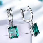 UMCHO-Solid-925-Sterling-Silver-Emerald-Engagement-Wedding-Earrings-for-Women-Gemstone-Vintage-Statement-Bridal-Jewelry_2