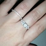Sona Diamonds Vintage Stacking Band Ring photo review