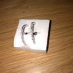 Cubic Zirconia Bar Stud Earring photo review
